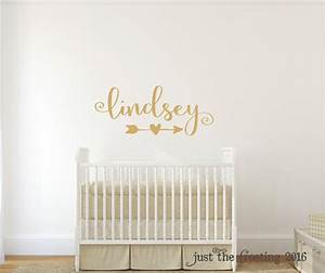 gold decor gold wall decal wall decal nursery monogram With gold wall decals