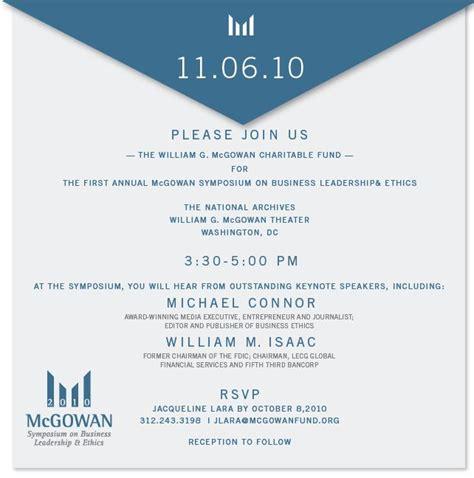 sample business luncheon invitation michael connor