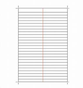Lined Writing Paper Landscape - sample lined paper 19 ...