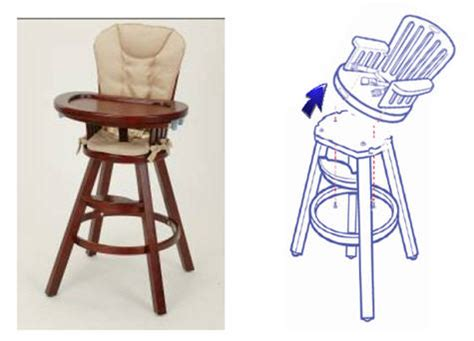 Eddie Bauer Wooden High Chair Recall Cpsc by Customer Service