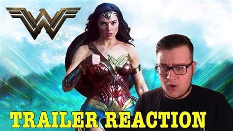 woman trailer  reaction youtube