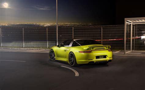 2018 Techart Porsche 911 Targa 4s 2 Wallpaper Hd Car