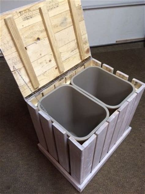 recycling bins ideas  pinterest recycling
