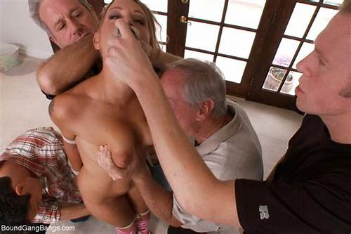 Youthful Male Getting Nunky In Their Puss #Sexy #Babe #Gets #Tied #Up #Punished #And #Fucked #By #Group #Of