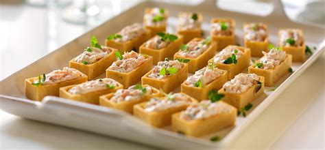 canape recipes salmon canapes recipe dishmaps