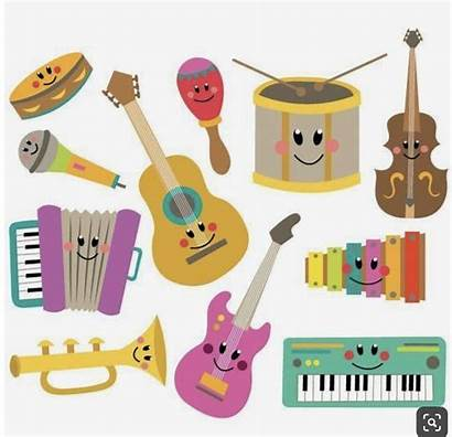 Instruments Musical Clipart Instrument Clip Piano Craft