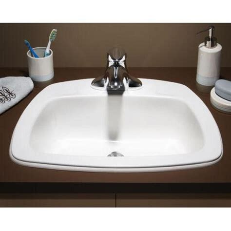 Drop In Bathroom Sinks Canada by Drop In Bathroom Sinks Drop In The Water Closet
