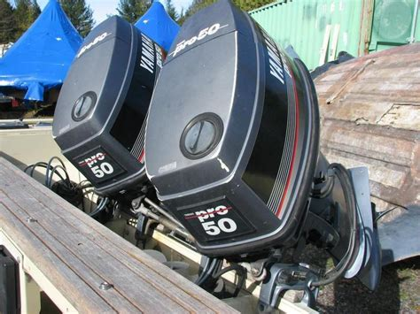 Used Yamaha Outboard Motors For Sale In Ontario by Yamaha Pro 50lg 1998 Used Outboard For Sale In Carp