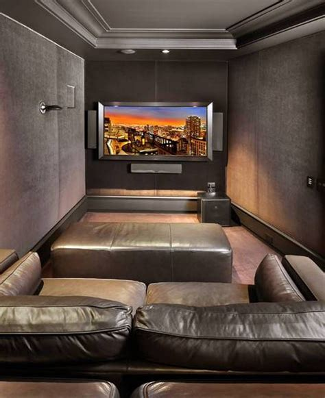 Interior Design Ideas For Home Theater by Home Design And Decor Small Home Theater Room Ideas