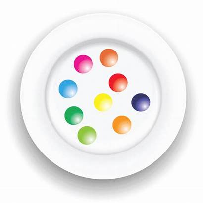 Gorgeous Plate Gobstoppers Gooey Materials Animation