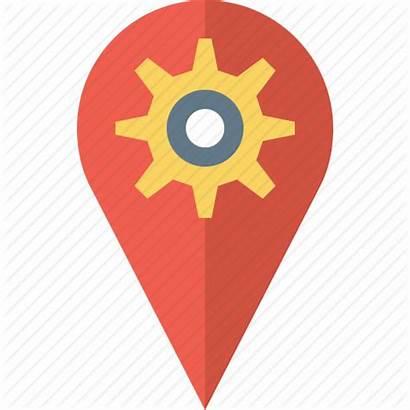 Icon Google Maps Map Custom Local Regional