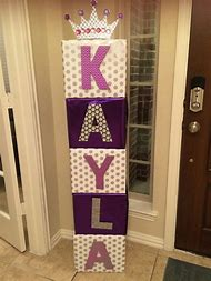 Decorations Baby Shower Name Boxes