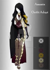 (closed) BUY NOW - Outfit Adopt - Assassin by CherrysDesigns on DeviantArt