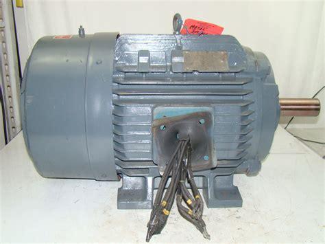Siemens Electric Motors by Siemens 60hp Electric Motor 1775 Rpm 230 460v Rgzp Ebay