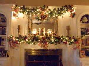 christmas mantle garland holiday decor and design ideas pinterest