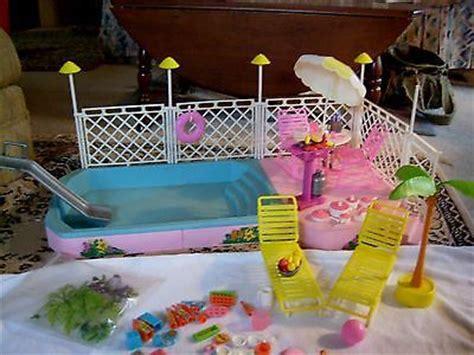 barbee pool deck vintage swimming pool tropical pool patio set 1986