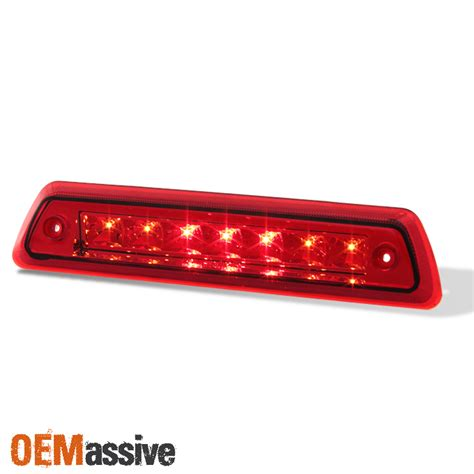 2014 f150 tail lights 2009 2014 ford f150 pickup truck red led rear 3rd brake