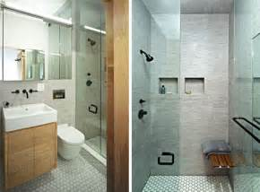 bathroom shower designs small spaces efficiency nyc shoebox studio apartment solution
