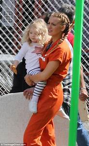 Blake Lively Spends Time With Daughter James On Movie Set Daily Mail Online
