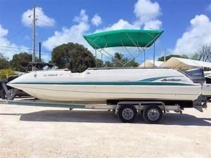 1998 22 U0026 39  Hurricane Fundeck For Sale In Cross Key  Florida