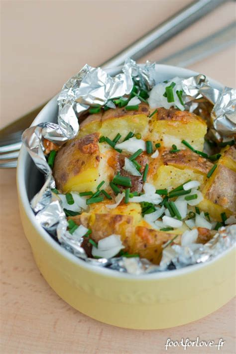 pommes de terre au four au cheddar food for love