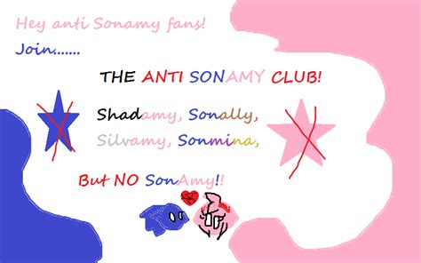 Anti Sonamy (no Hard Feelings Nor Hate For Fans.) By