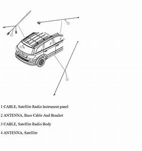 Where The Gps Antenna Is Located  In The 2011 Dodge