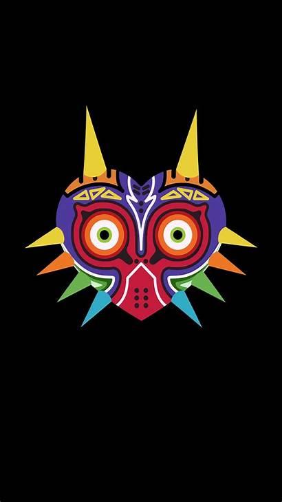Mask Zelda Legend Majora Majoras Wallpapers Phone
