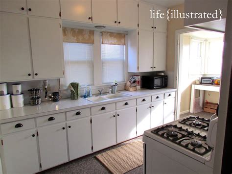 flat kitchen cabinets flat cabinets painted in white enamel kitchen makeover