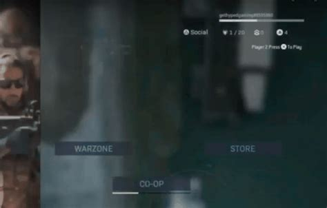 screen split warzone game user join hyped shot successfully hitting allow button then play