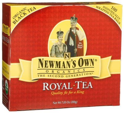 paul newman tea newman s ownorganics royal tea organic black tea 100