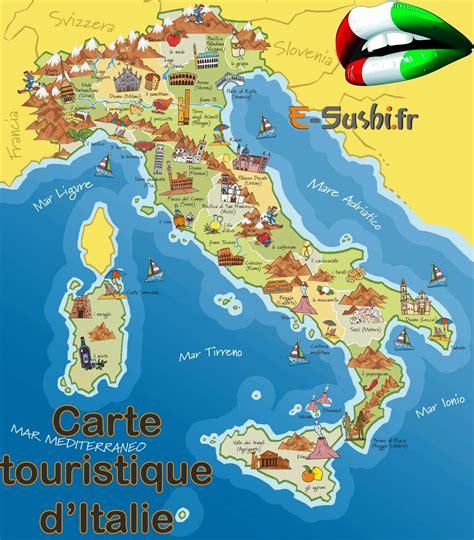 Carte Sud De Et Italie by Infos Sur Italie Du Sud Tourisme Arts Et Voyages