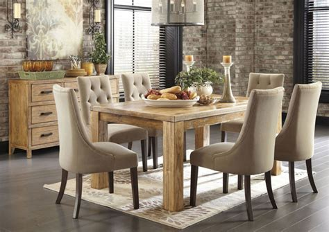 Farmhouse Kitchen Decorating Ideas - dining room captivating contemporary dining room with light brown drawers near the wall facing