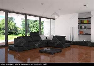 Wohnzimmer Einrichten Bilder : moderne wohnzimmer mit parkettboden stockfoto 6237963 bildagentur panthermedia ~ Sanjose-hotels-ca.com Haus und Dekorationen