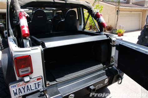 Tuffy Security Deck Jeep Jk by Interior Exterior Mods Project Jk