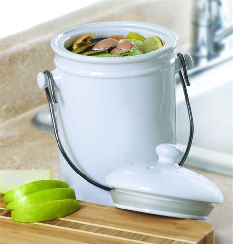poubelle compost pour cuisine choisir une poubelle de cuisine et pratique