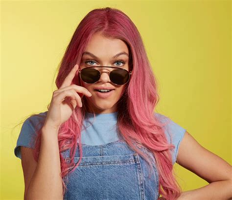 How To Dye Hair Pastel Red At Home Pick And Mix