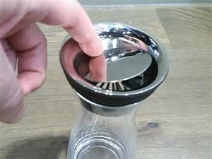 Glaskaraffe 2 Liter : wmf basic wasserkaraffe 1 liter fassungsvolumen h he 29cm mit closeup verschluss aus cromargan ~ Whattoseeinmadrid.com Haus und Dekorationen