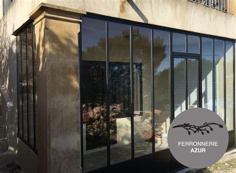 porte d entrée en metal porte entr 233 e verre structure metal atelier artiste 06