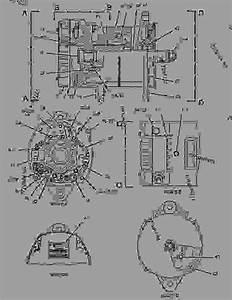 2988838 Alternator Group-charging - Engine - Industrial Caterpillar G3516b