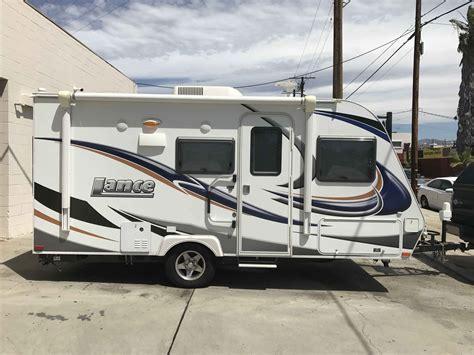 lance  travel trailer  california ca