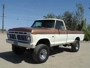 1975 F250 Highboy Original Bronze And White 360 Automatic