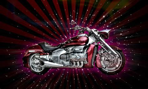 Pink Harley Davidson