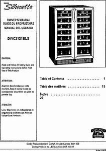 Danby Dwc2121bls User Manual Wine Cooler Manuals And