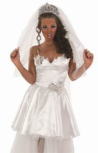 adult bride costume tv big fat gypsy wedding fancy dress With wedding dress costume