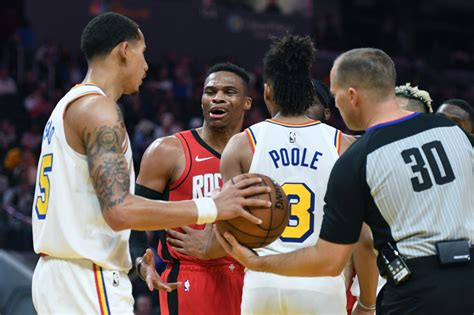 Warriors Lose To Rockets But Russell Westbrook Loses His Cool