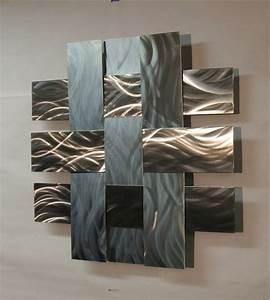 Deco Metal Mural : la d coration murale en m tal touches d 39 l gance pour l 39 int rieur ~ Nature-et-papiers.com Idées de Décoration