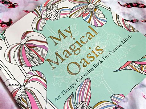 My Magical Oasis Adult Colouring Book