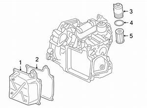 2009 Volkswagen Jetta Gli Transmission Filter Housing