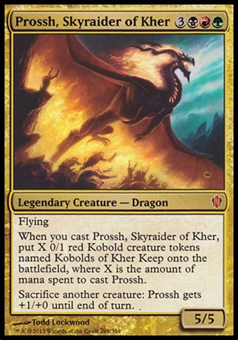 Competitive Edh Decks 2017 by Competitive Prossh Skyraider Of Khombo Multiplayer